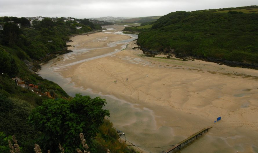 South West Coast Path: Newquay to Perranporth