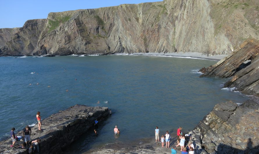 Hartland Quay – the start of a South West Coast Path walk