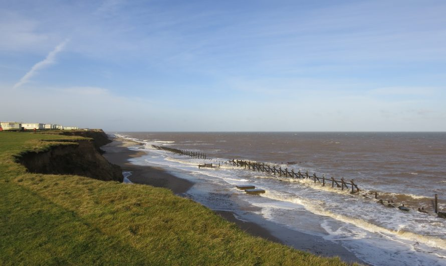 England Coast Path (Norfolk): Sea Palling to Bacton Green