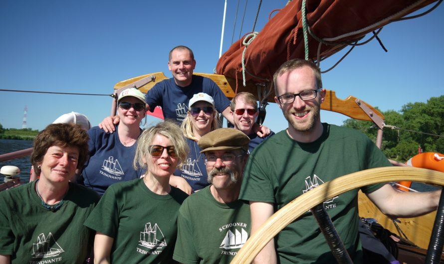 Schooner sailing: Karlskrona to Szczecin