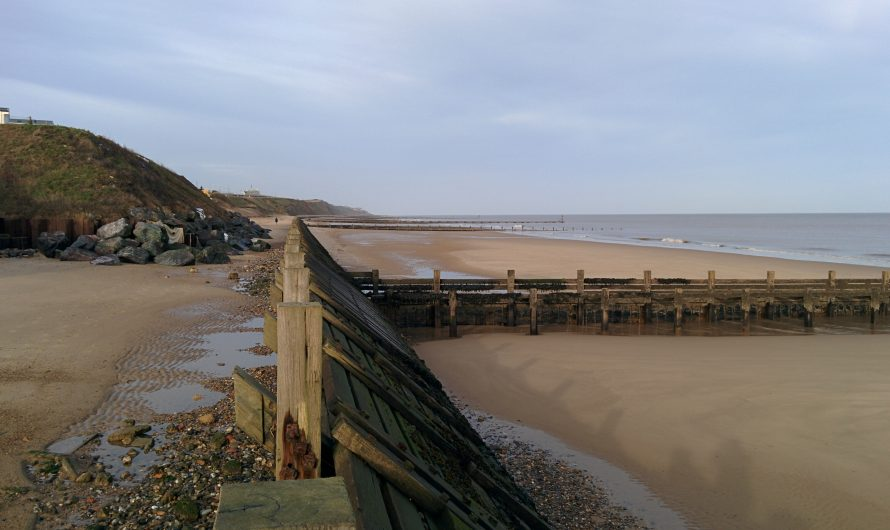 England Coast Path (Norfolk): Bacton Green to Mundesley