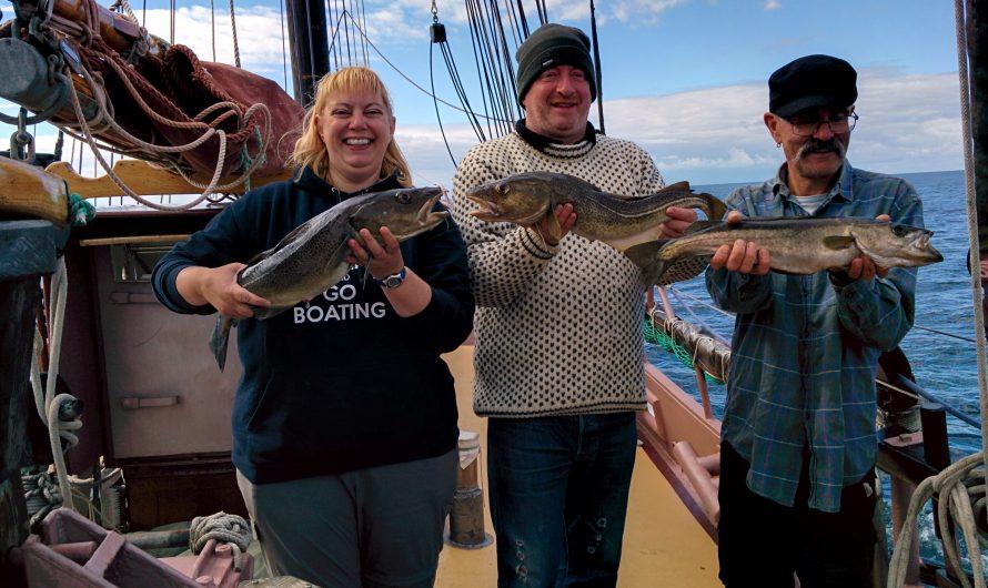 Schooner sailing: Bodø to Trondheim