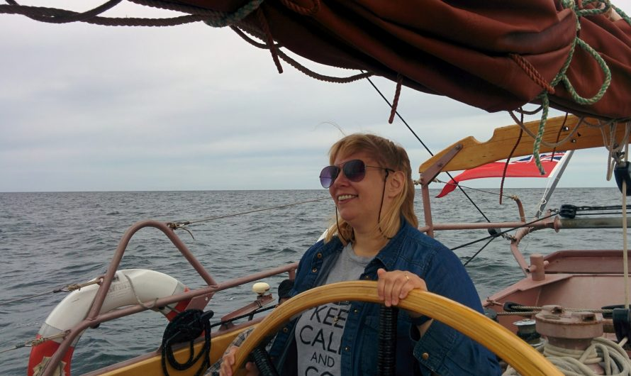 Schooner sailing: Kalmar to Klaipeda